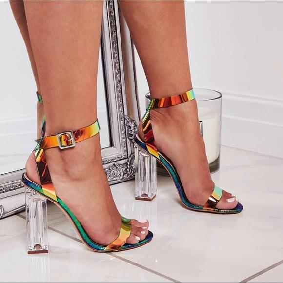 42dec440d22 Cape Robbin Shoes | Mermaid Vibes Lucite Perspex Heels | Poshmark